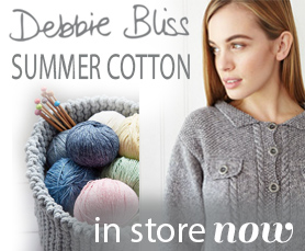 Debbie Bliss Summer Cotton knitting collection now available in store