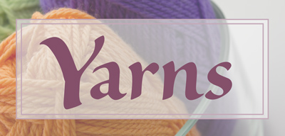 Knitting Yarns by Mail stock a large range of knitting yarns.