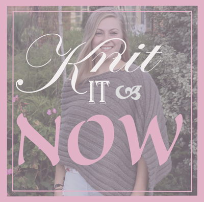 Knit It Now - create and make your own garments and accessories with our easy to use knitting kits