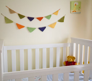 Image of our baby bunting knitting pattern