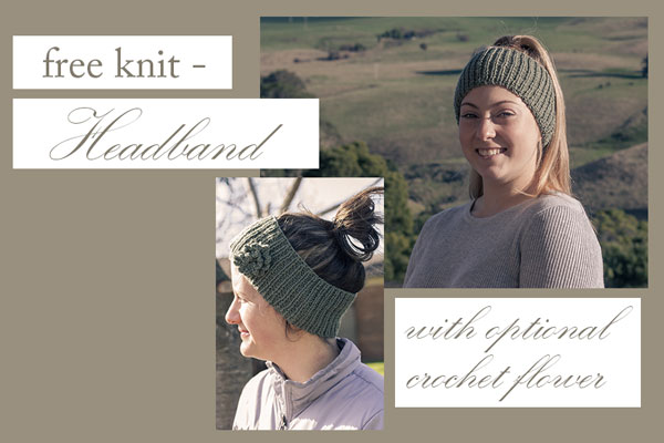 Free Knit Adventure Awaits Headband In Cashmerino Knitting