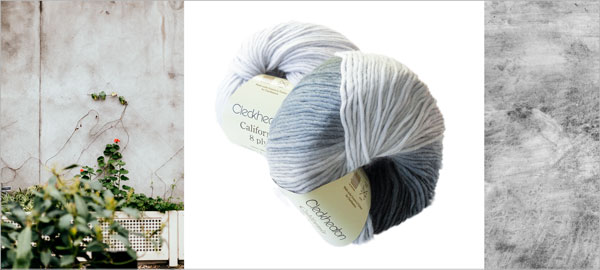 Cleckheaton California knitting yarn new shades graphite and soft grey, inspired by the earth