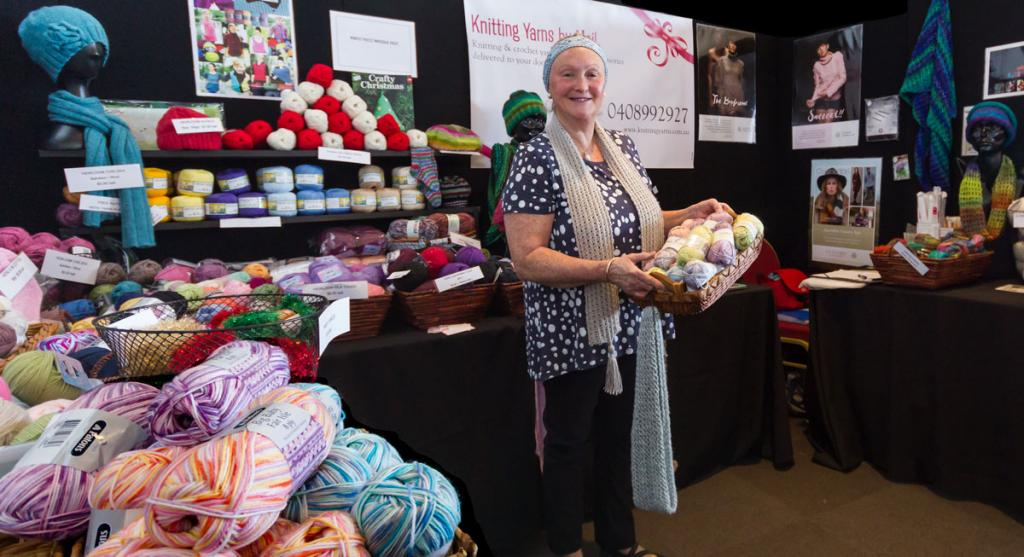 Image of our stall at Pakenham Stitch Craft Show 2016