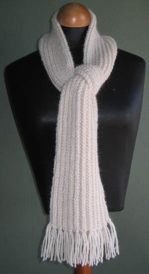 Knitting Pattern 2 Ply Scarf : * 8ply Alpaca Duo: Broken Rib Scarf & Beanie KYBM1607 ...