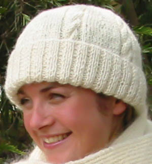 Our Alpaca Rib Beanie knitting pattern