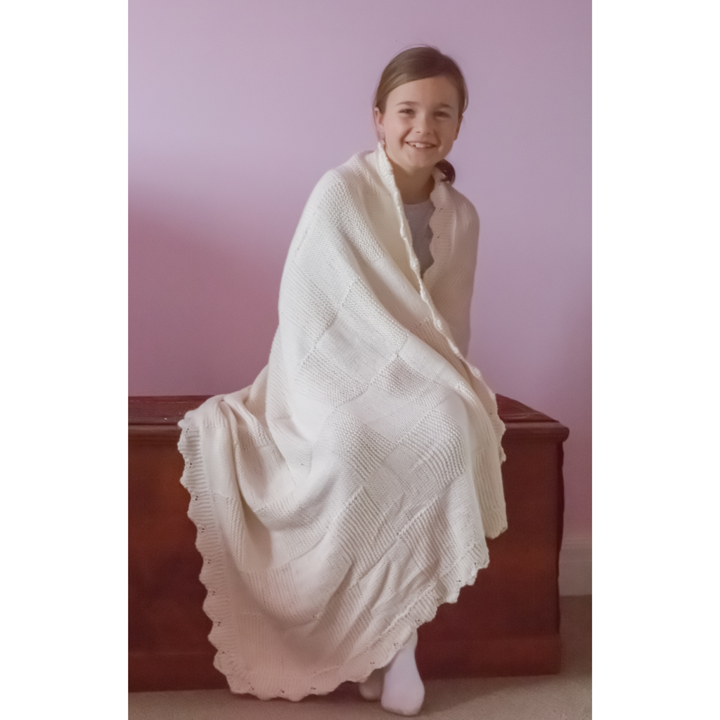 Image of our Pure Cotton Textured Throw Kit