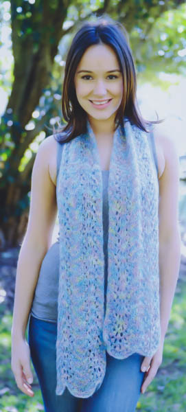 Image of our Damasco Print knitting pattern