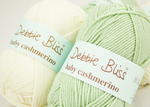 Debbie Bliss Baby Cashmerino, beautiful cashmere and extrafine merino wool blend