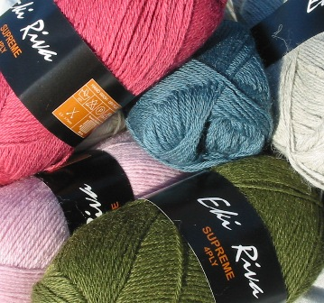 Image of Eki Riva alpaca supreme knitting and crochet yarn