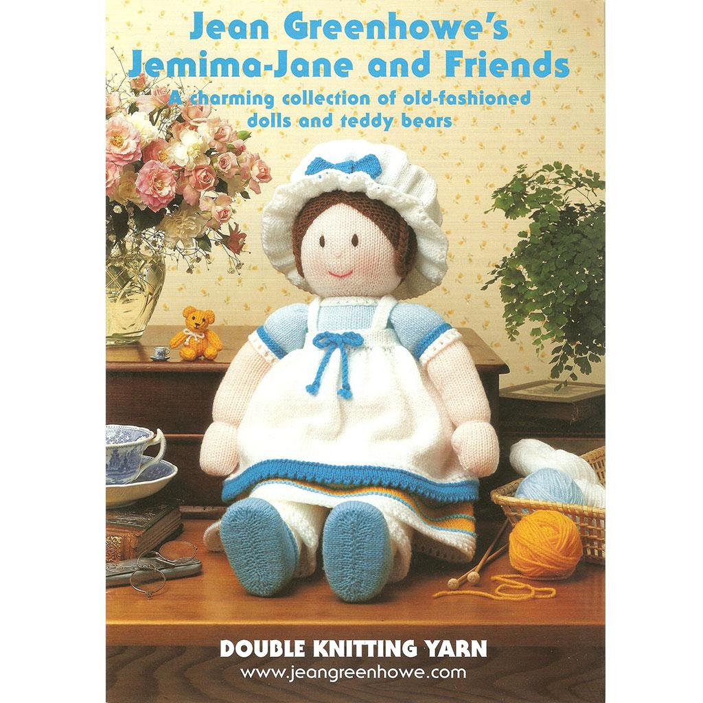 Jean Greenhowe Jemima Jane Amp Friends 8ply Jgd19 Knitting