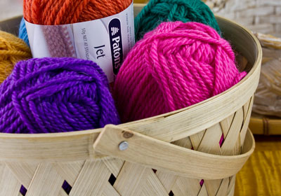 Patons Jet knitting yarn