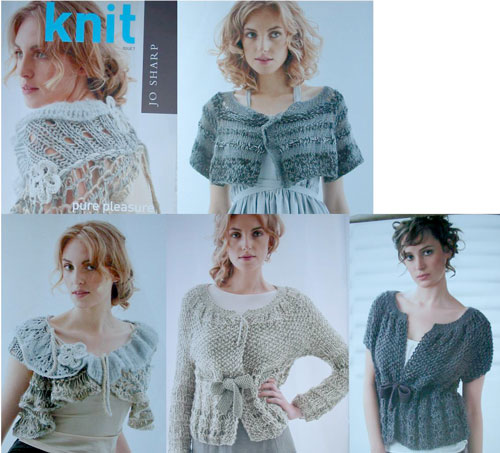 Some of the patterns inside Jo Sharp Knit - Issue 7
