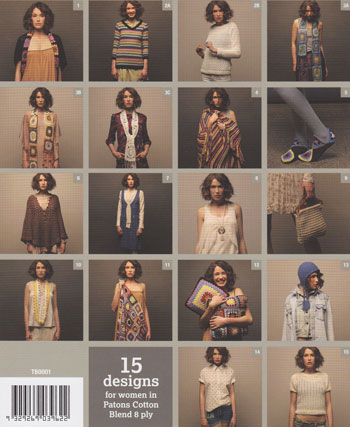 Image of crochet patterns inside Patons Modern Vintage Crochet 1319