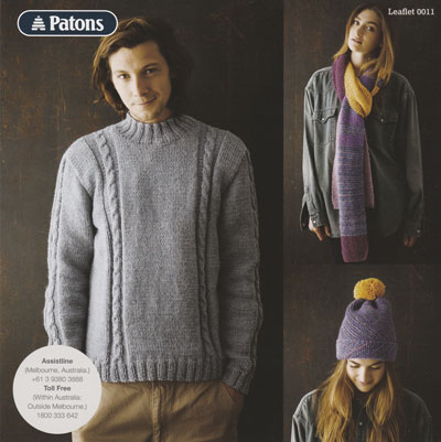 Pattern12ply Mens Womens Jet Sets 0011 Knitting Yarns By Mail