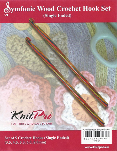 KnitPro Symfonie Wood Crochet Hook Set